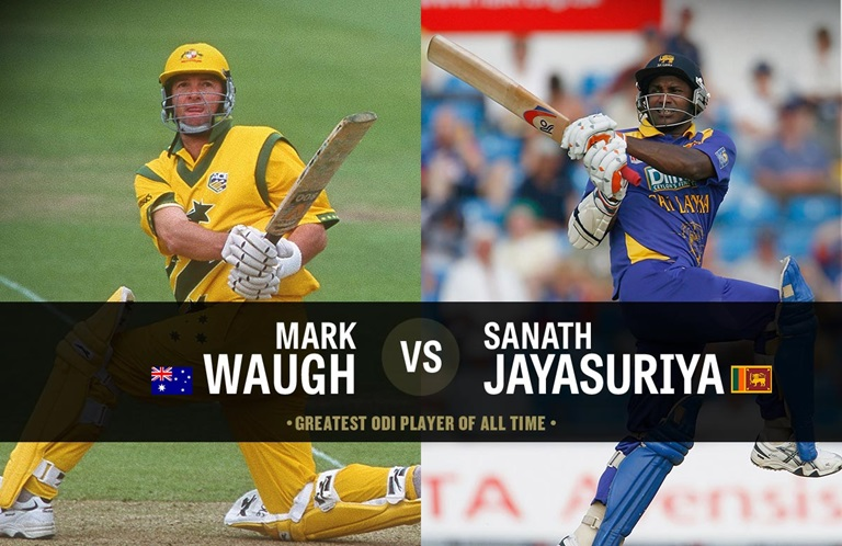 Mark Waugh Sanath Jayasuriya