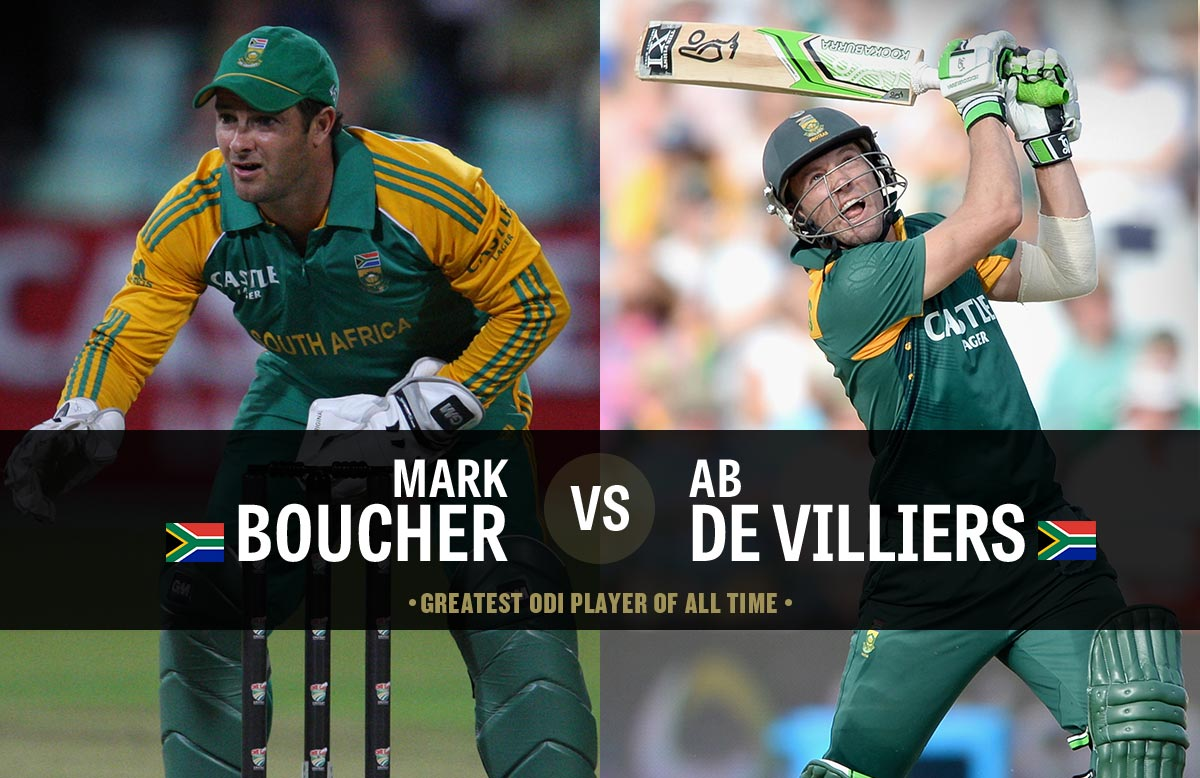 Mark Boucher AB de Villiers