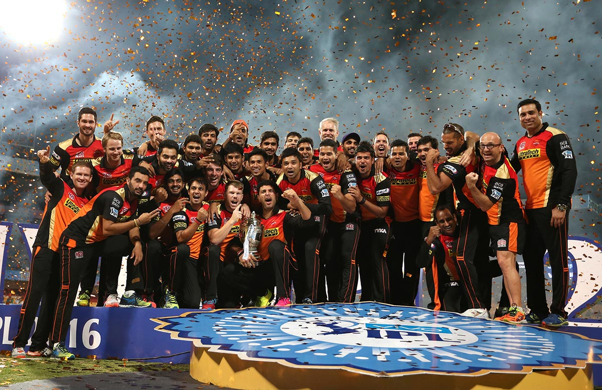 Sunrisers IPL final
