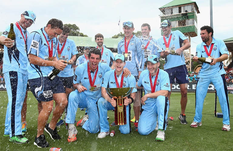 NSW will be looking to go back-to-back this summer // Getty