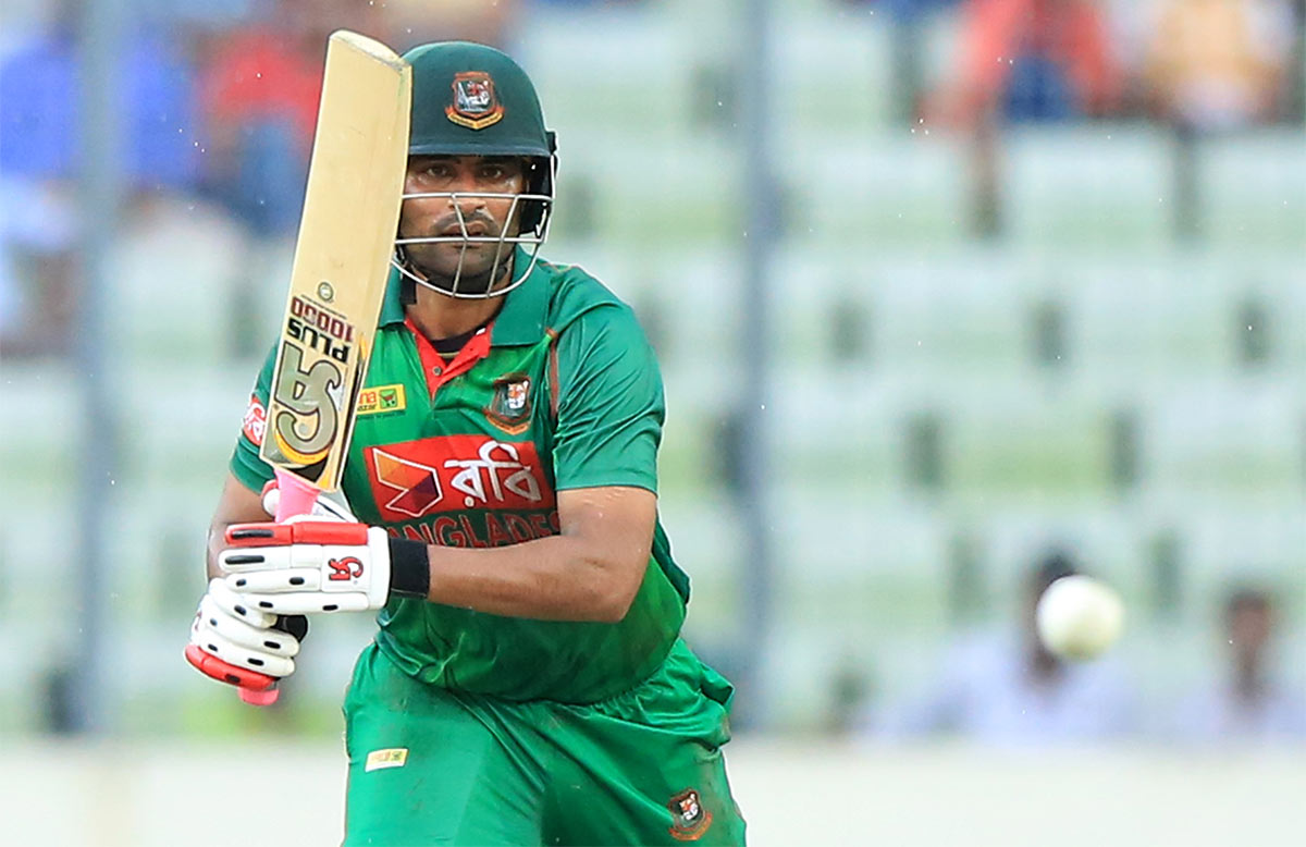 Tamim Iqbal with a match-high 80 // Getty