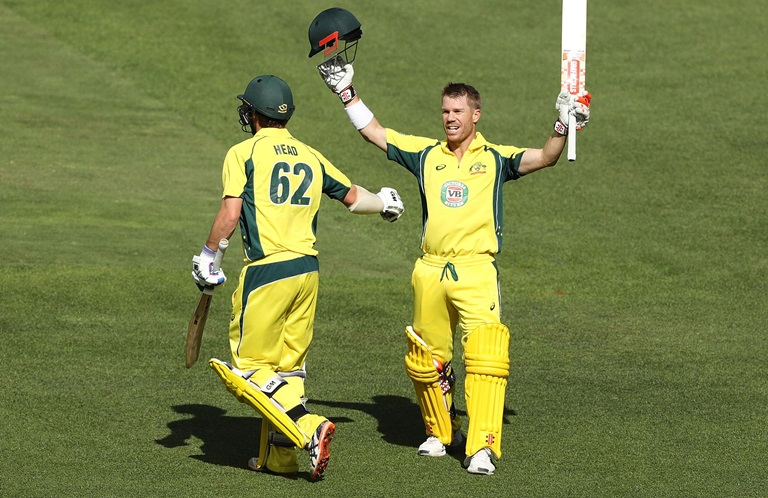 Warner-tons-up-to-continue-incredible-form-still
