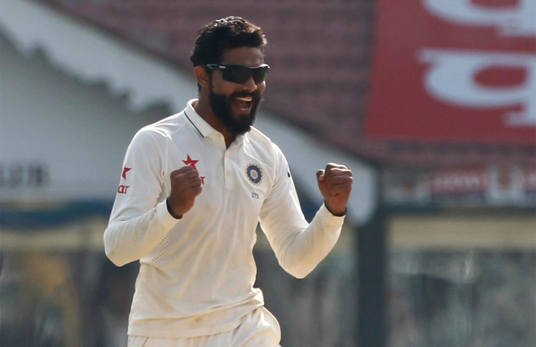 Jadeja moves into the silver medal position // Getty