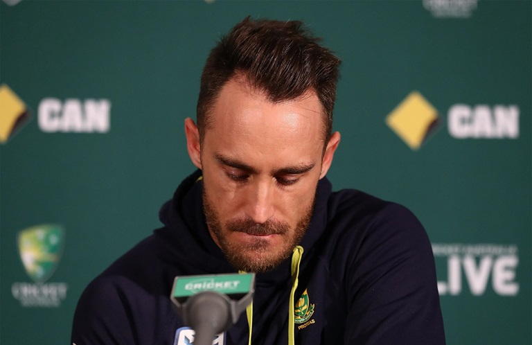 Du Plessis found guilty but free to play // Getty
