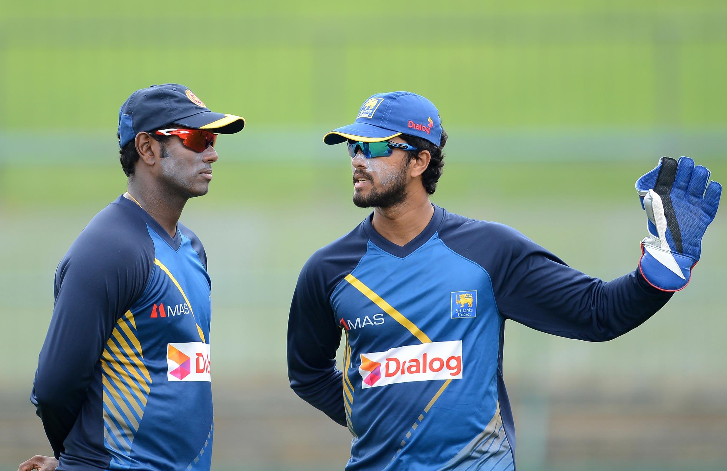 Angelo Mathews - Dinesh Chandimal. ( cricket.com.au)