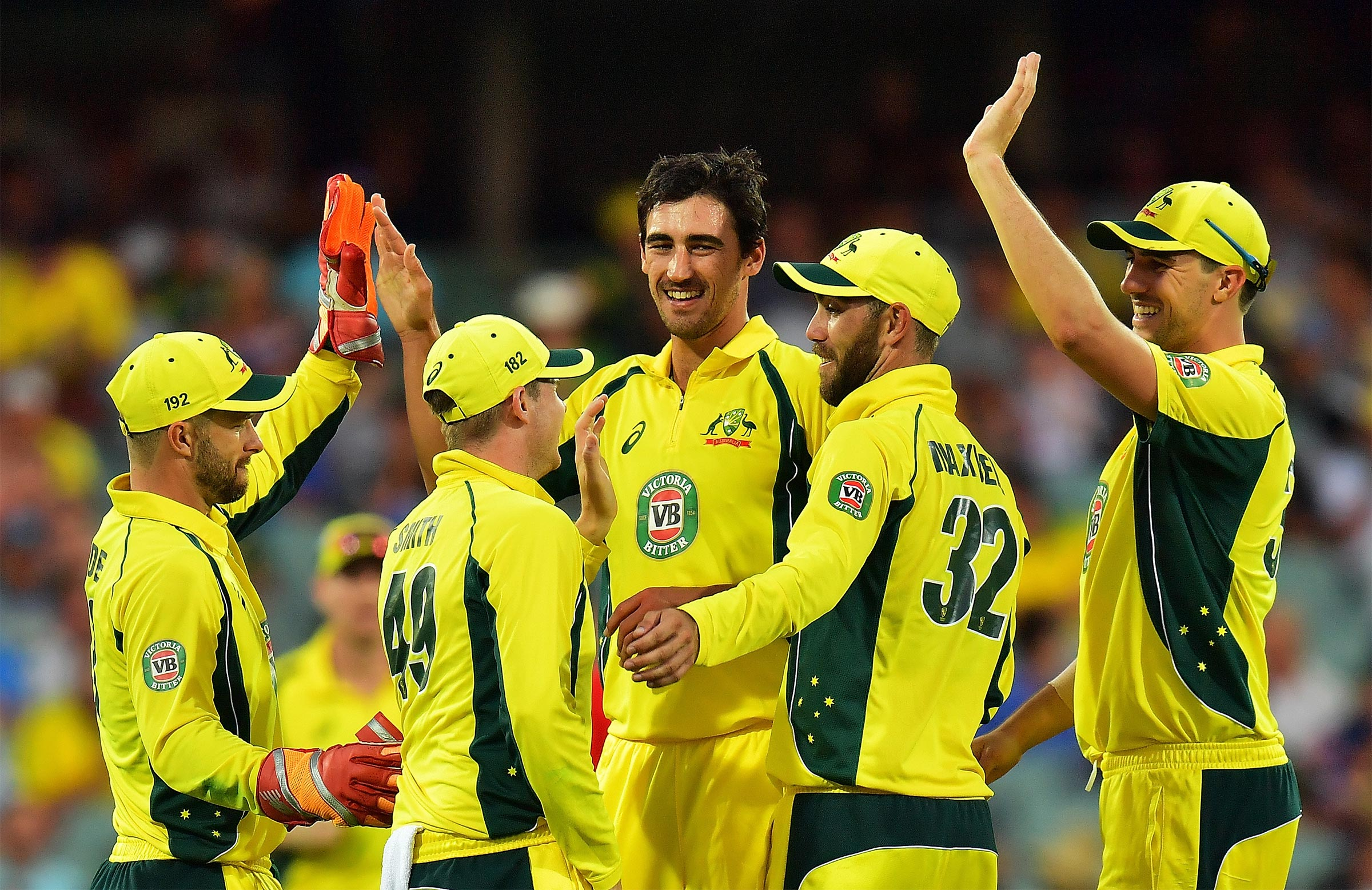 Australia claim the series 4-1 // Getty