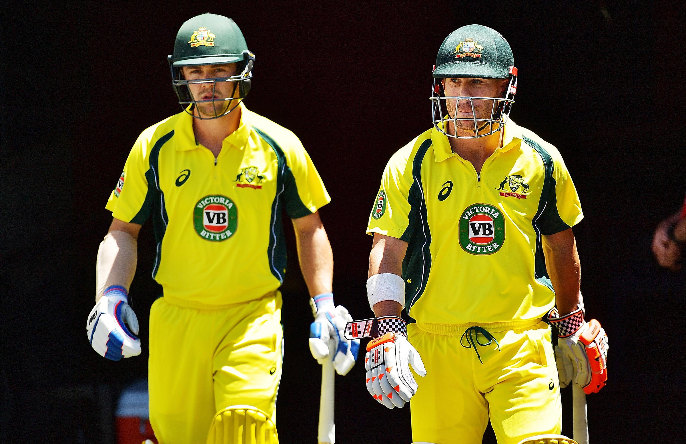 Australia's new opening combination // Getty