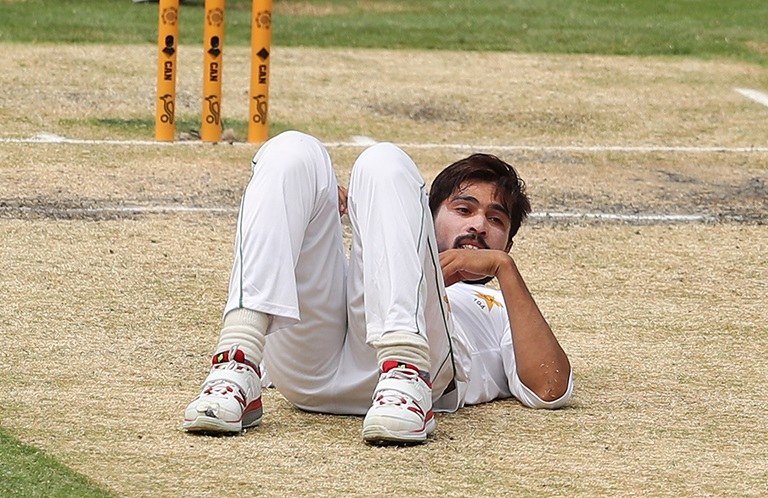 Mohammad Amir has been sent for scans // Getty