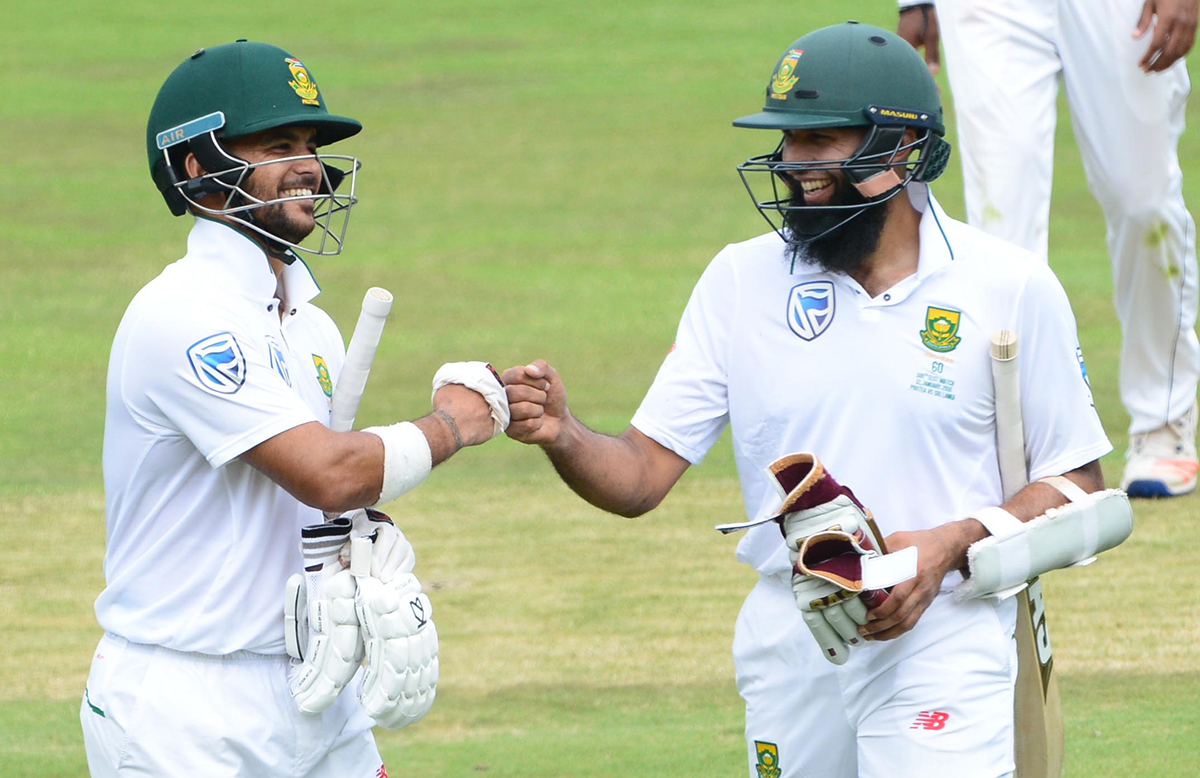Hashim Amla and JP Duminy both passed 100 // Getty