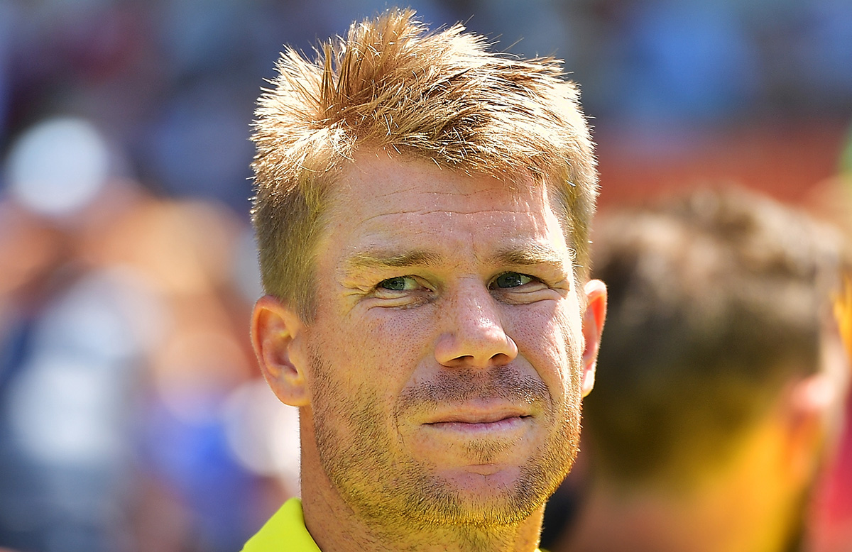 David Warner achieves a career-first // Getty Images