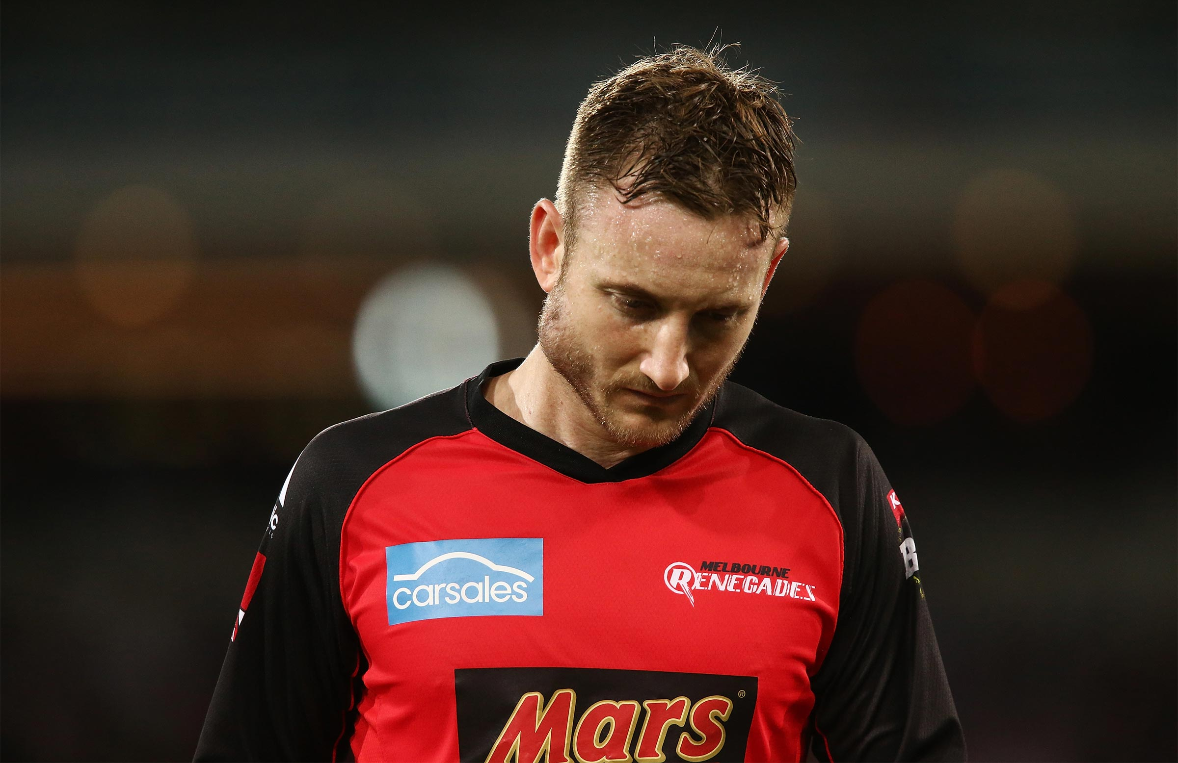 Nevill feared his season was over // Getty