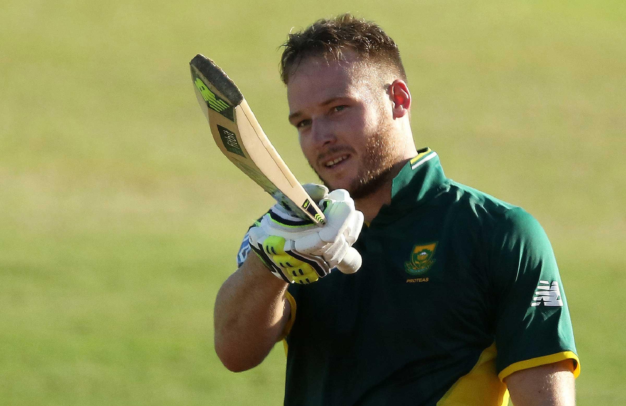David Miller Sa Cricket Du Plessis, Miller lea...