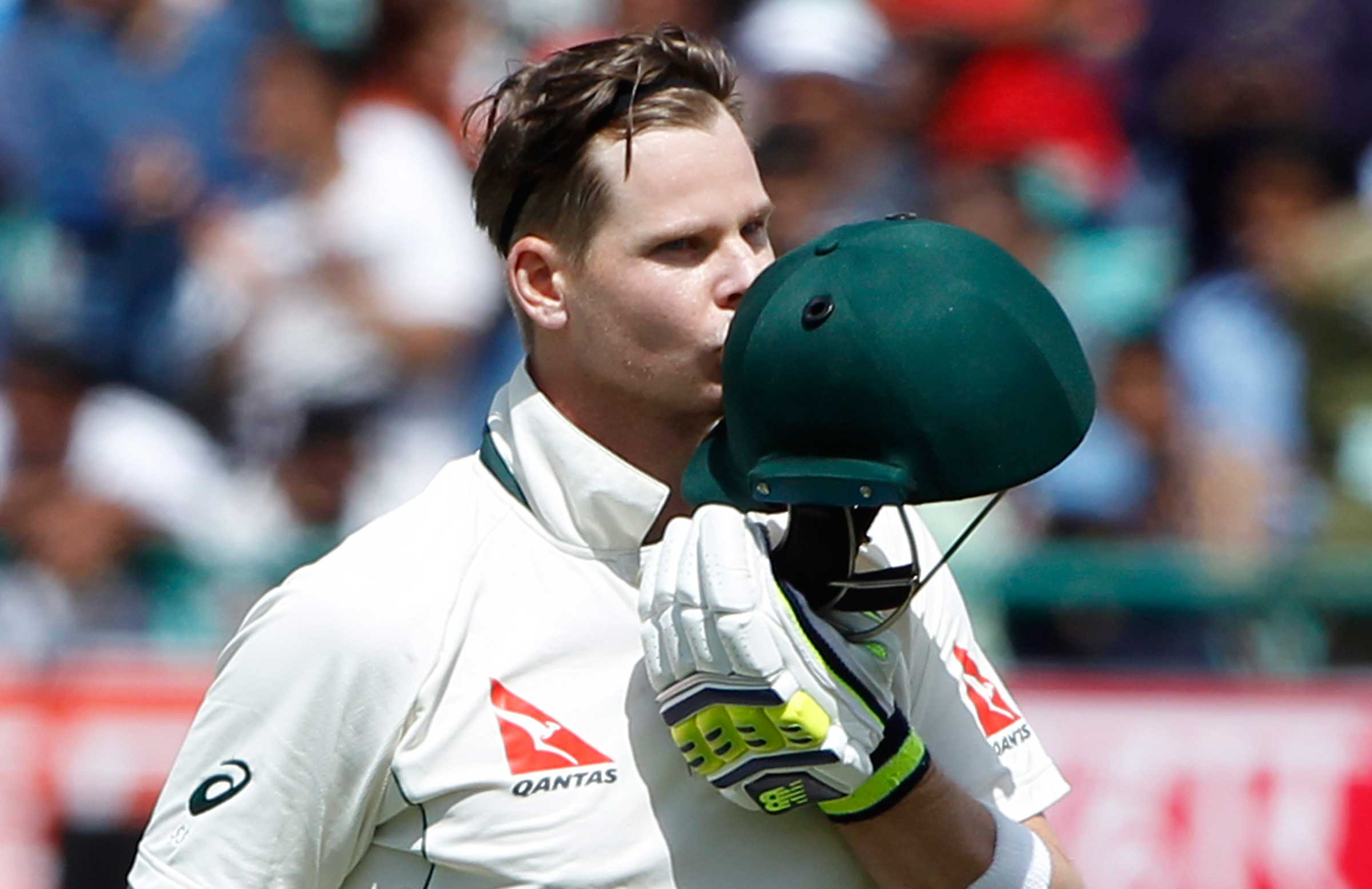 AUSTRALIA V INDIA TESTS                 Smith scales new heights with latest ton        25 March 2017