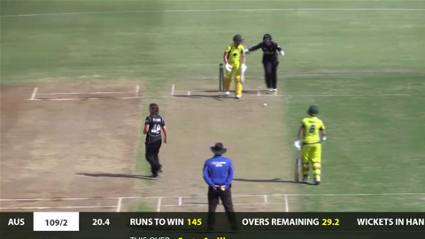 Sixteen-year-old NZ leggie takes two in two balls