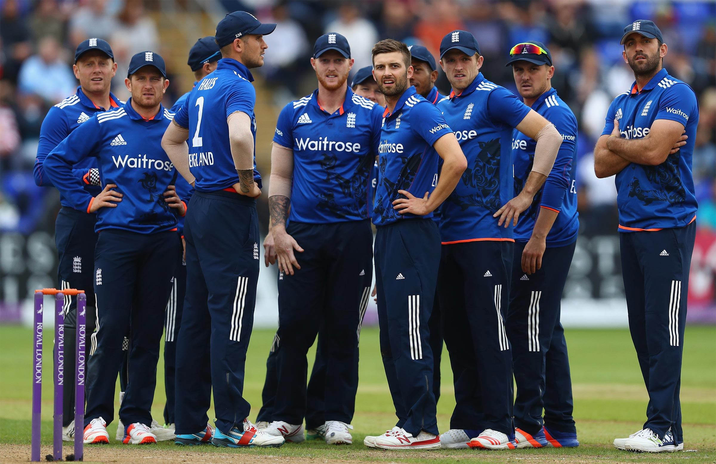England will enter the Champions Trophy as one of the favourites // Getty
