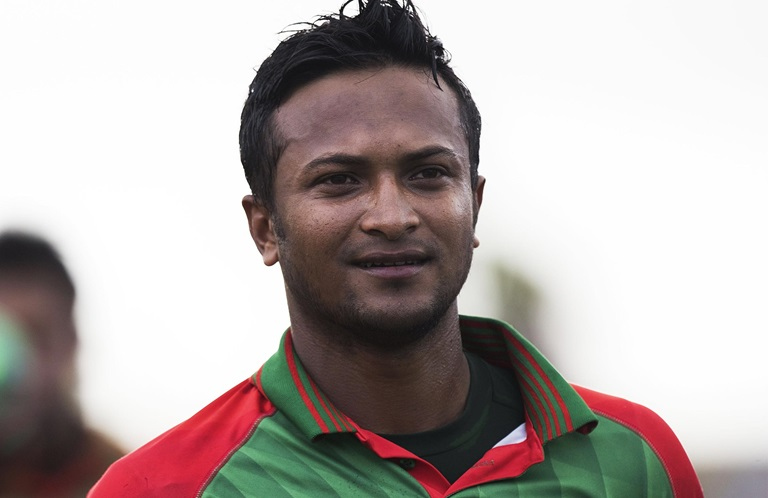 Shakib, the world's best allrounder // Getty