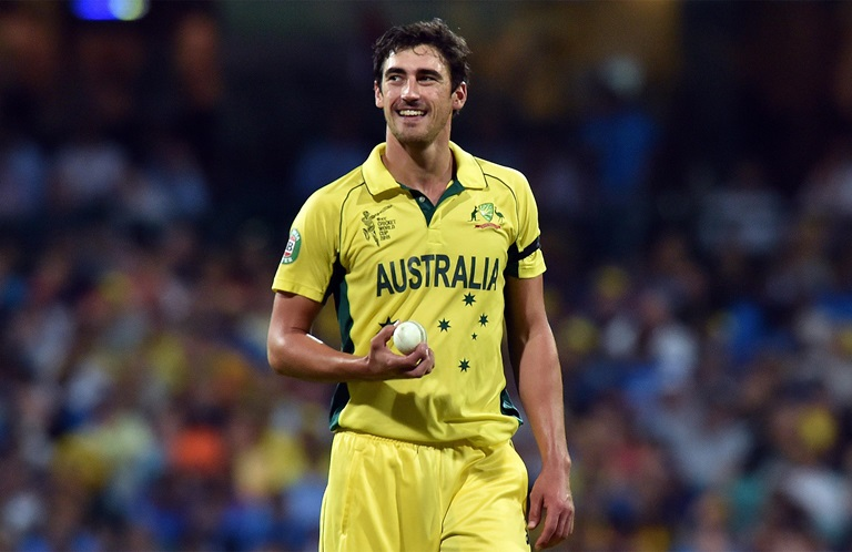 Starc to star again at the Champions Trophy // Getty
