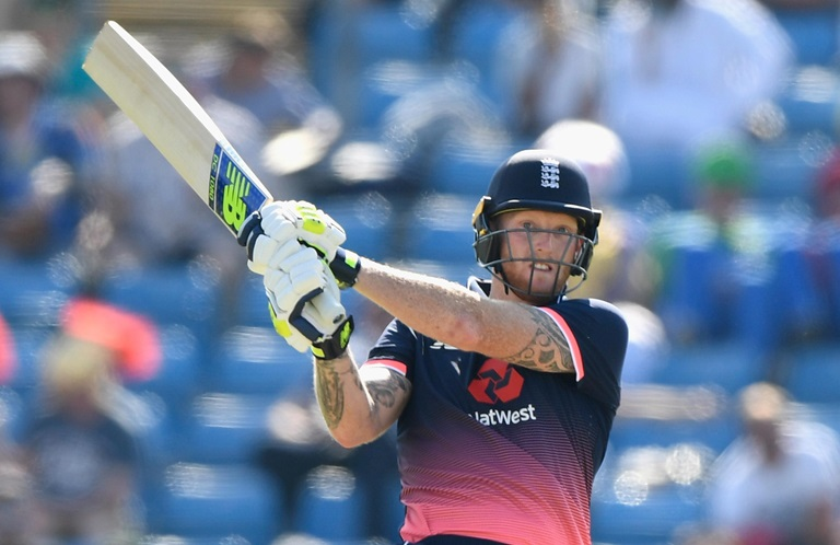 Stokes in full swing for England // Getty