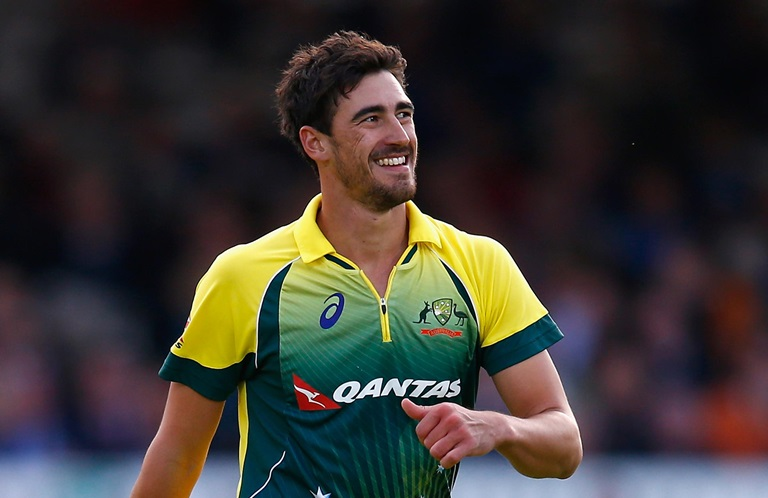 Starc is already looking ahead to the Ashes // Getty