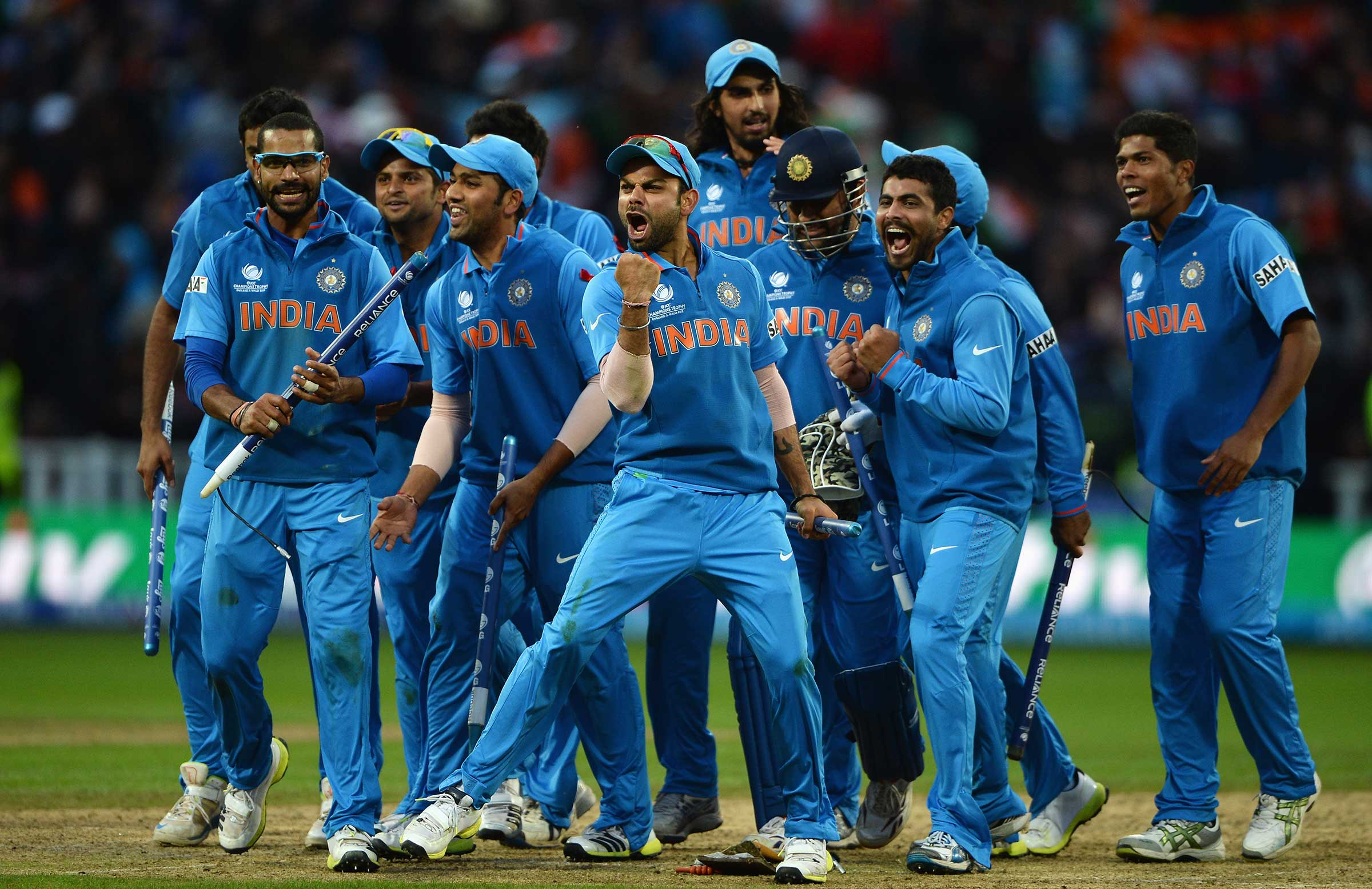 India Finally Reveal Champs Trophy Squad