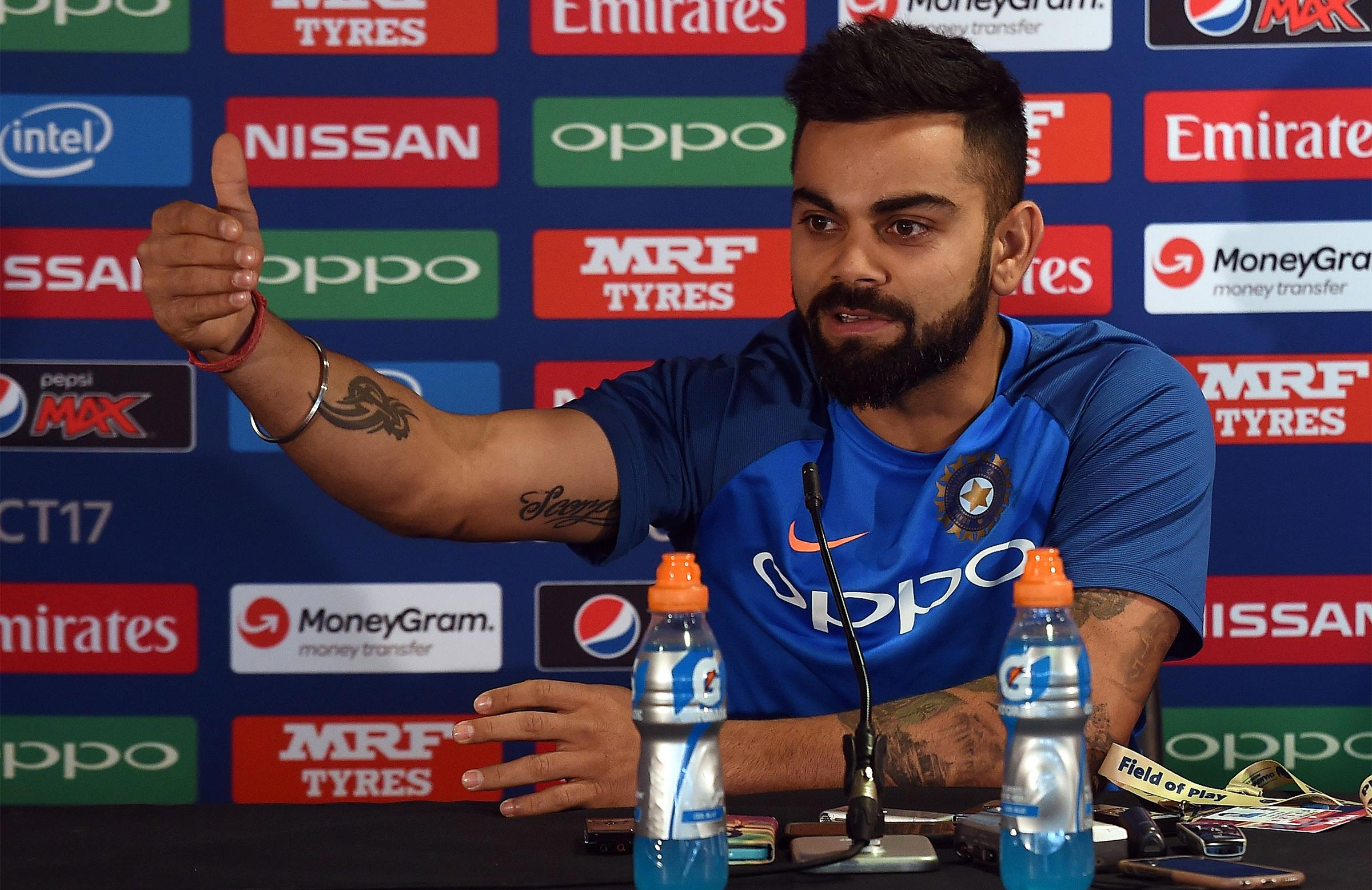 Kohli rejects rumours of Kumble feud