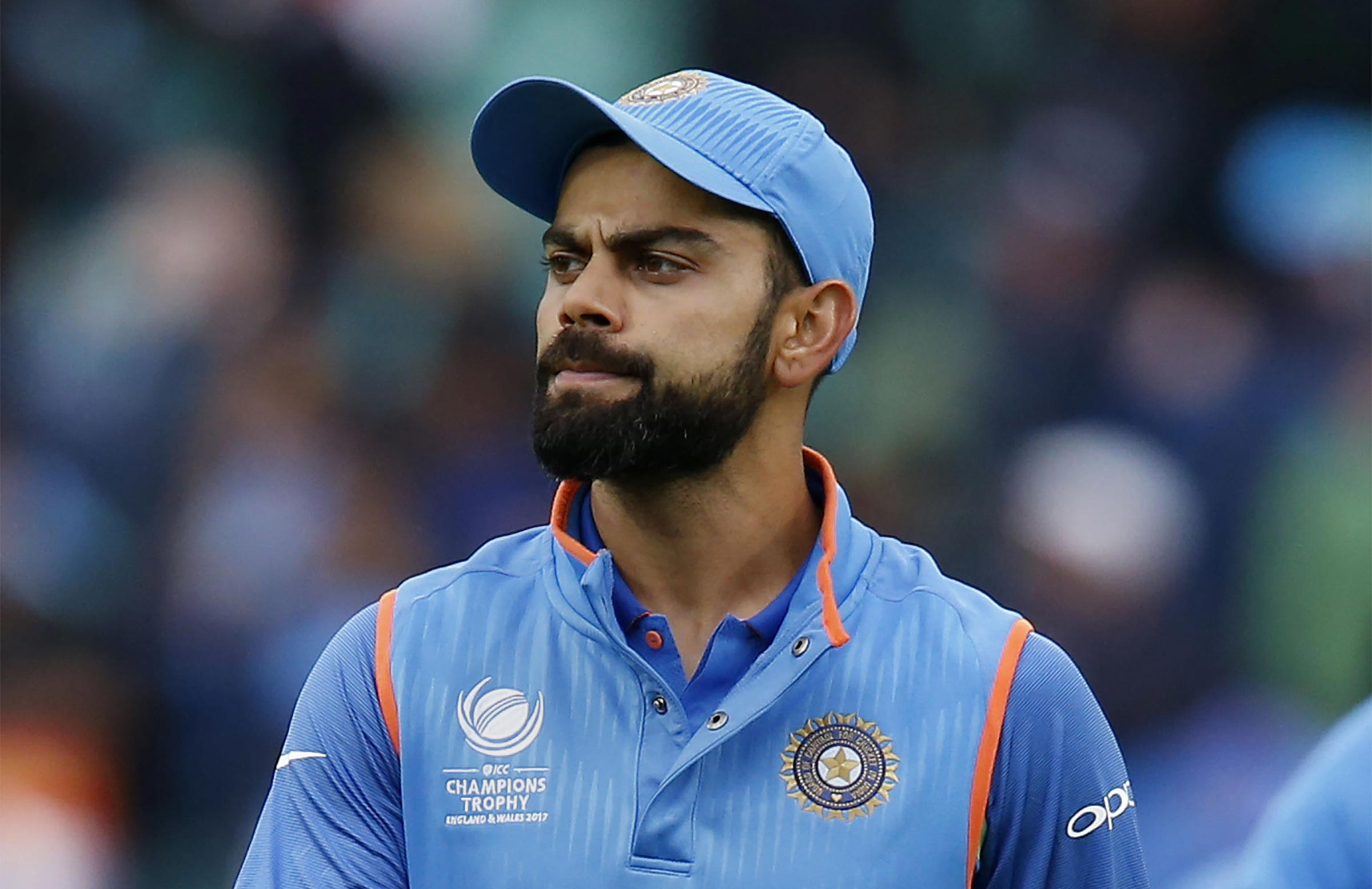 Kohli says stay cool // Getty