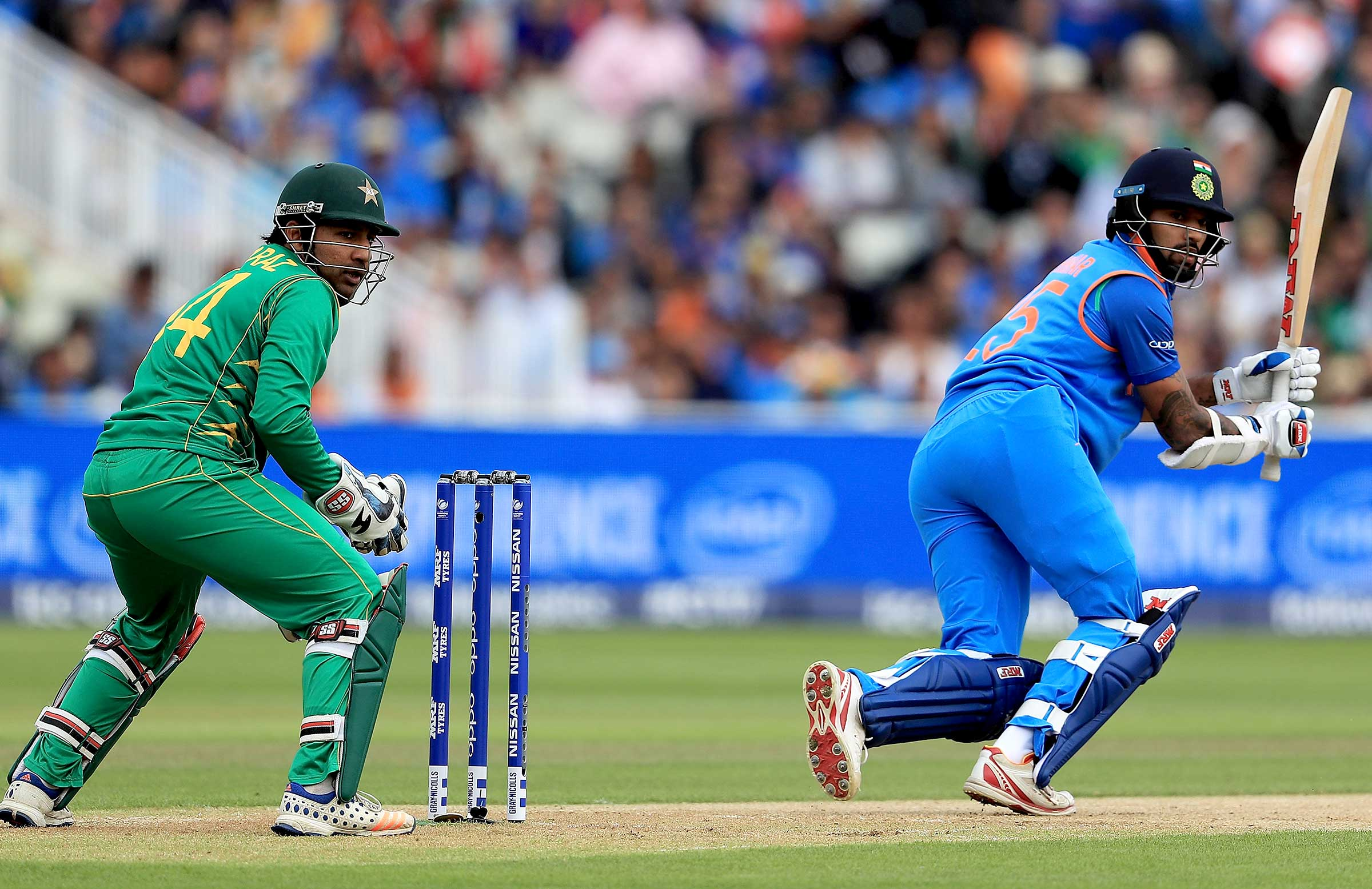 Champions Trophy: India Crushes Pak