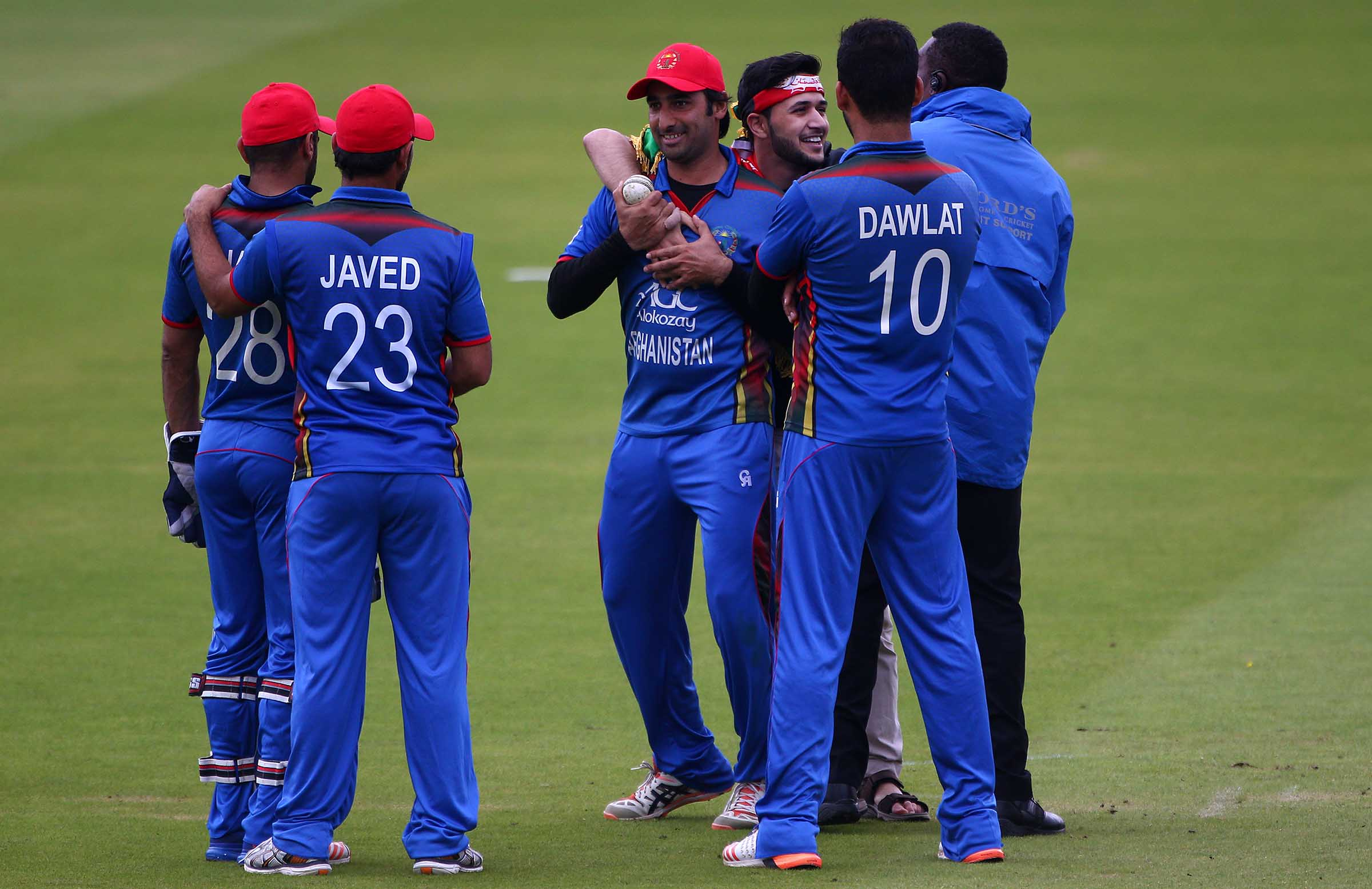 Afghanistan A replaces Aust A in series