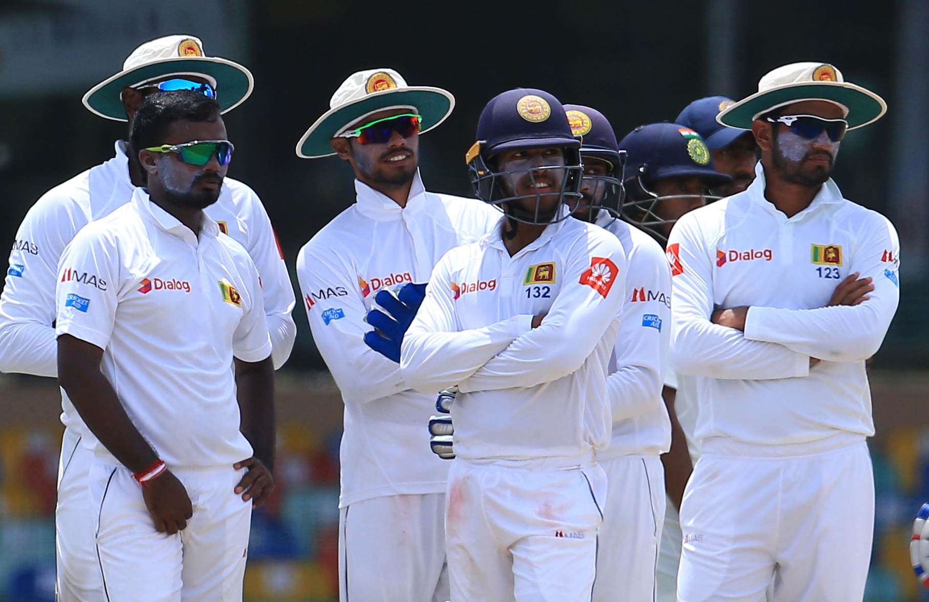 Sri Lanka 19/1 after following-on, trail India by 333 runs