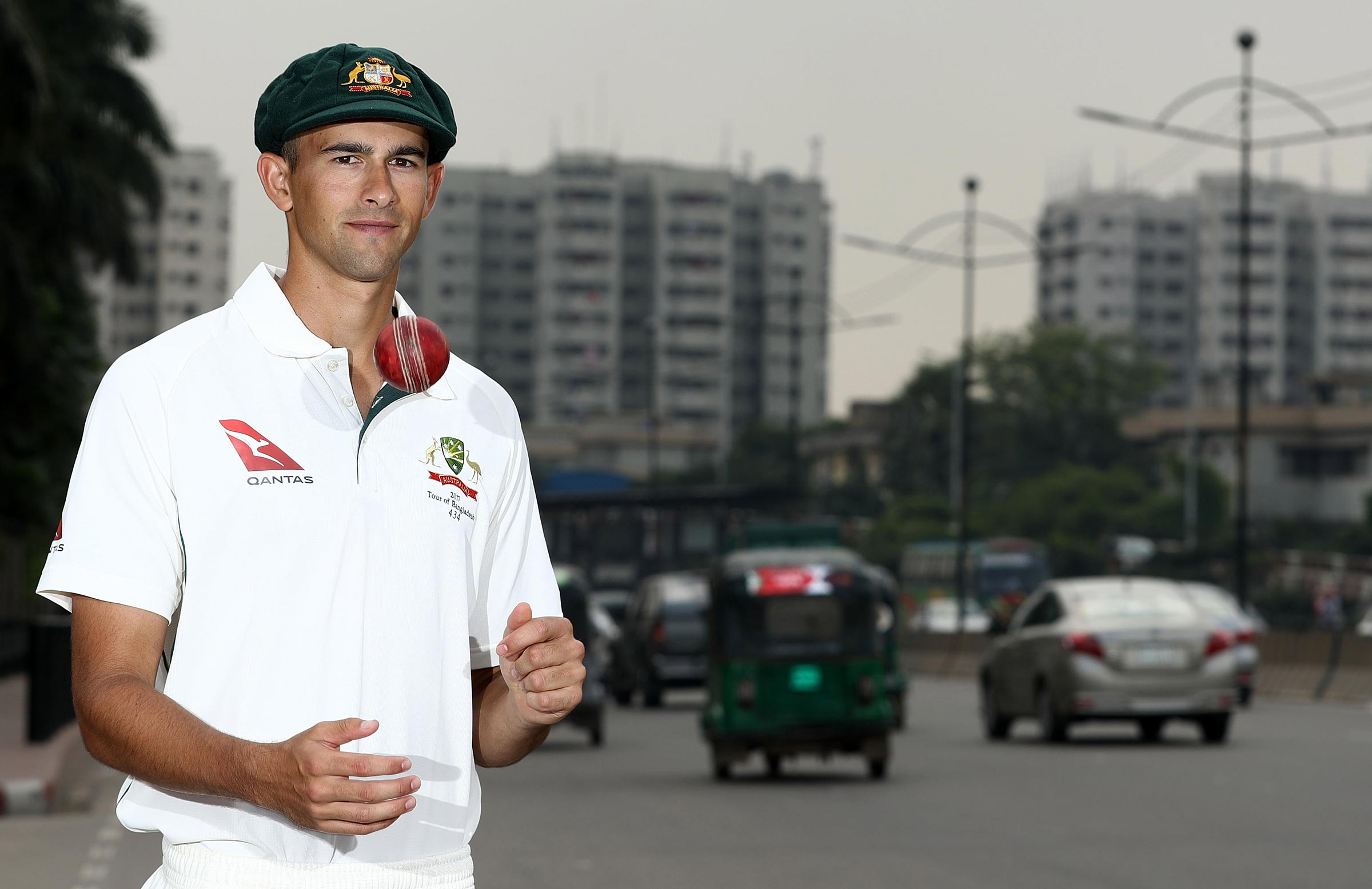Bangladesh on top in 1st test, Australia struggling at 123
