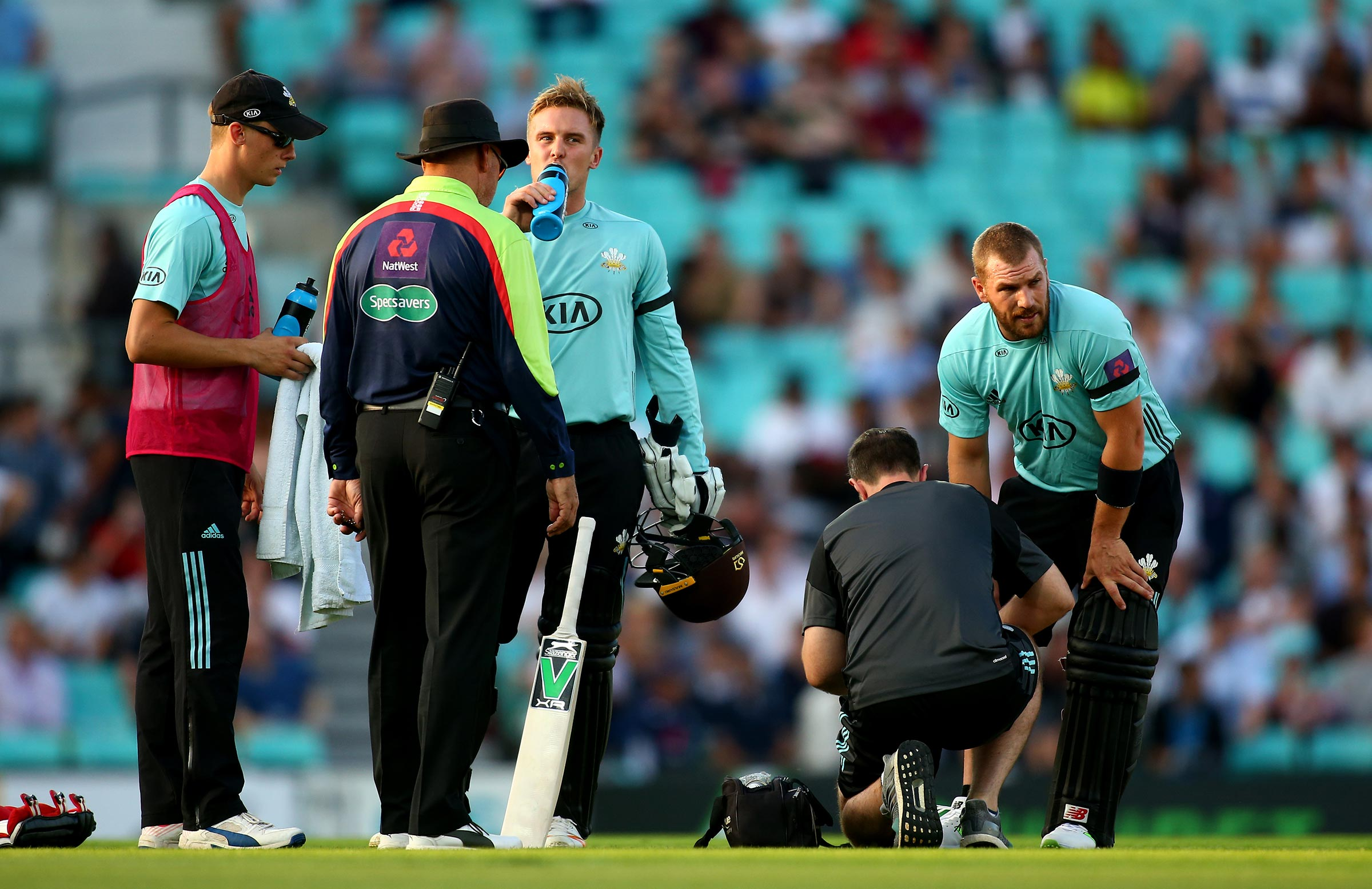 A calf injury restricted Finch // Getty