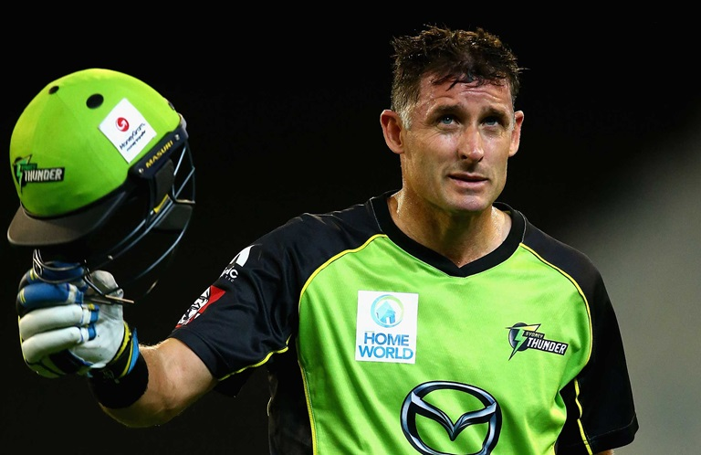 Hussey's move ultimately brought gold // Getty