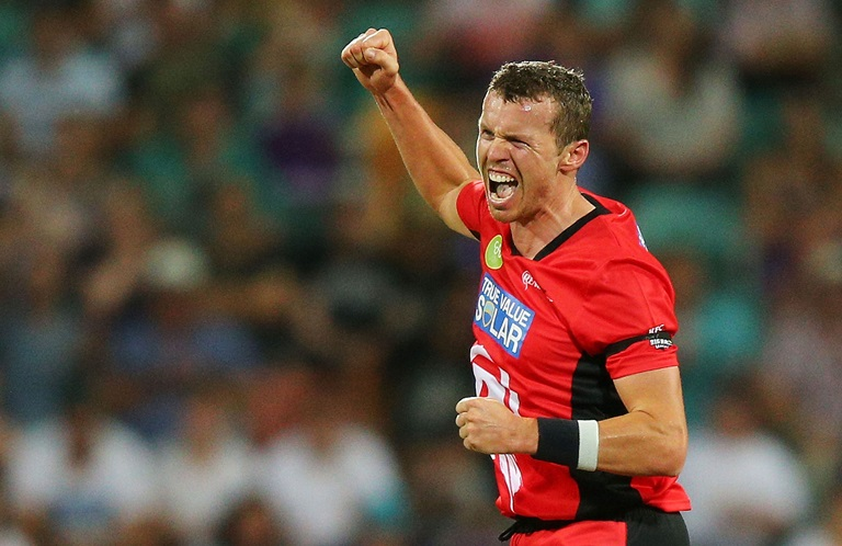 Siddle set to swap red for blue // Getty