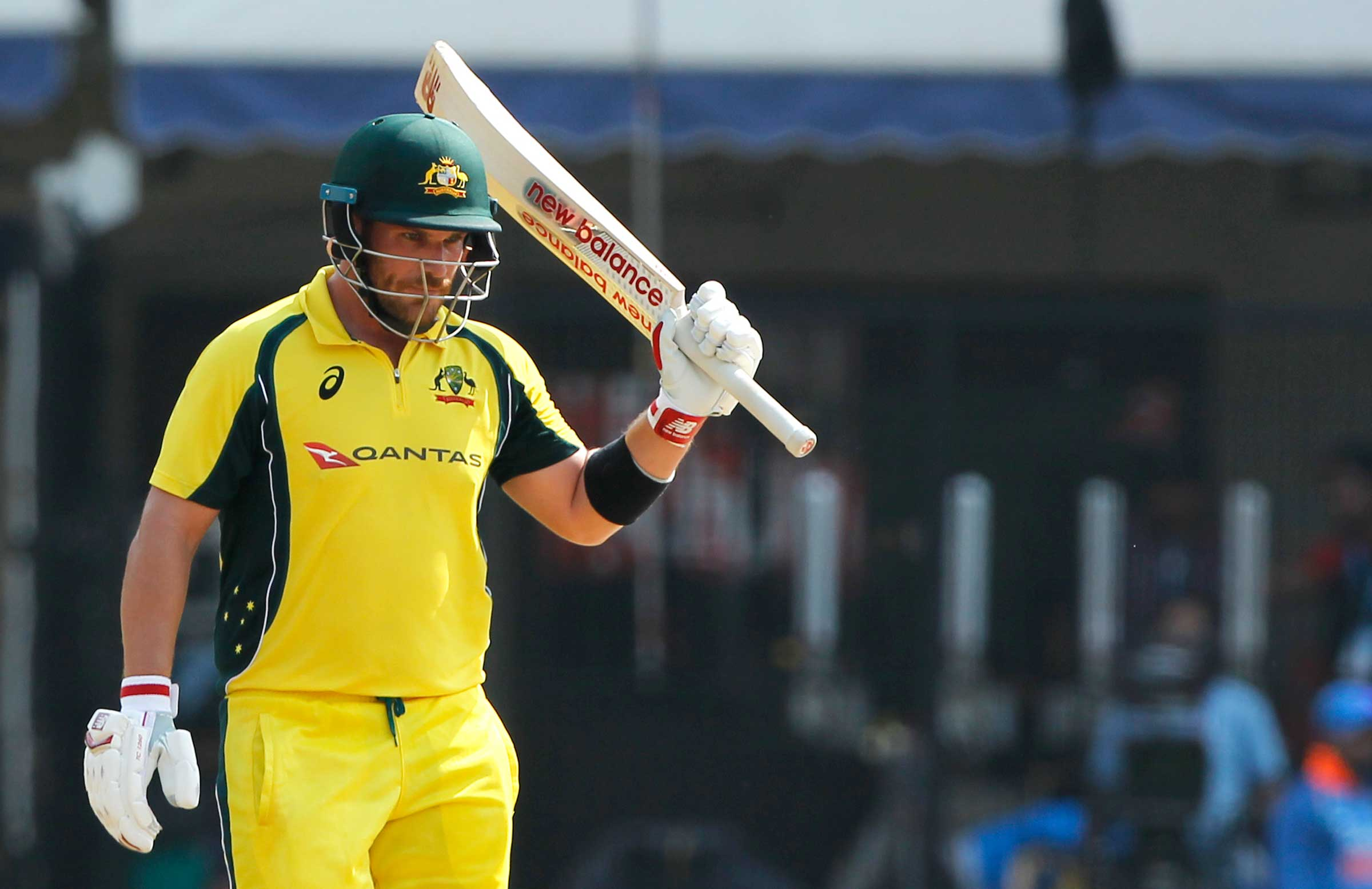 Eighth ODI hundred for Finch // BCCI