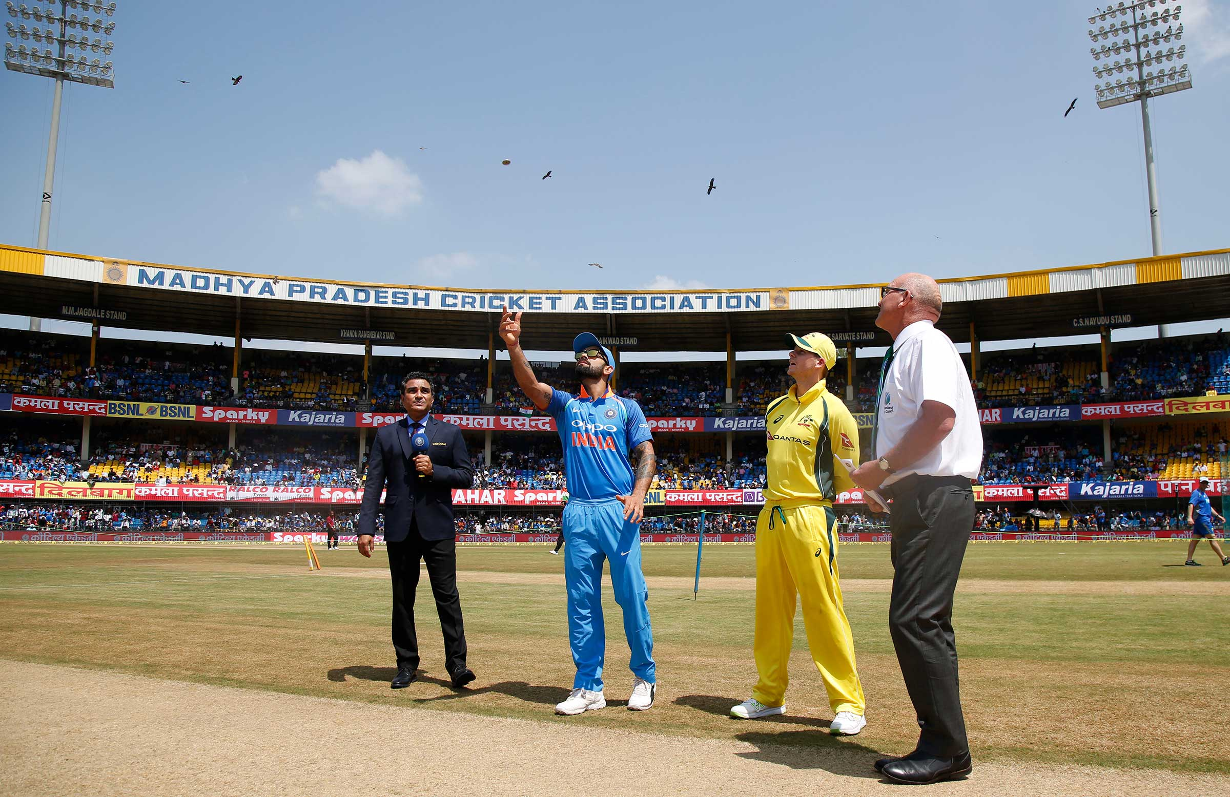 India vs Australia: Rain threat for fourth ODI in Bangalore