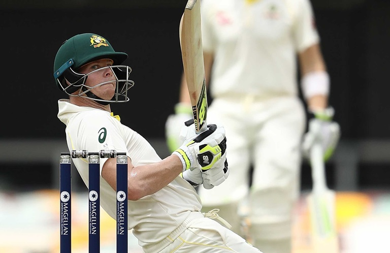 Marsh-strokes-pretty-fifty-on-Test-recall-still