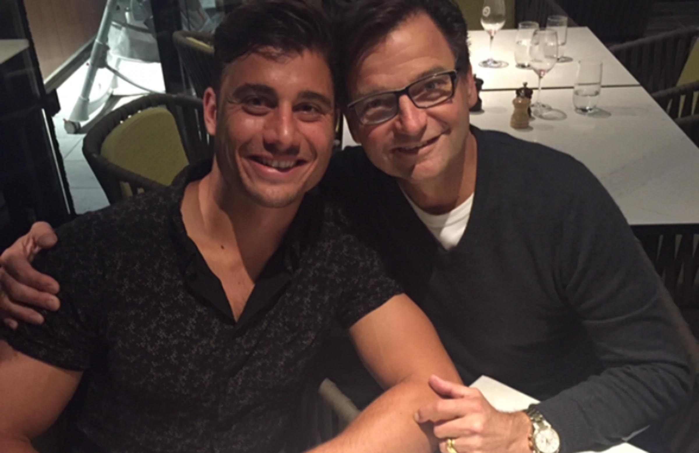 Stoinis with his father, Chris // supplied