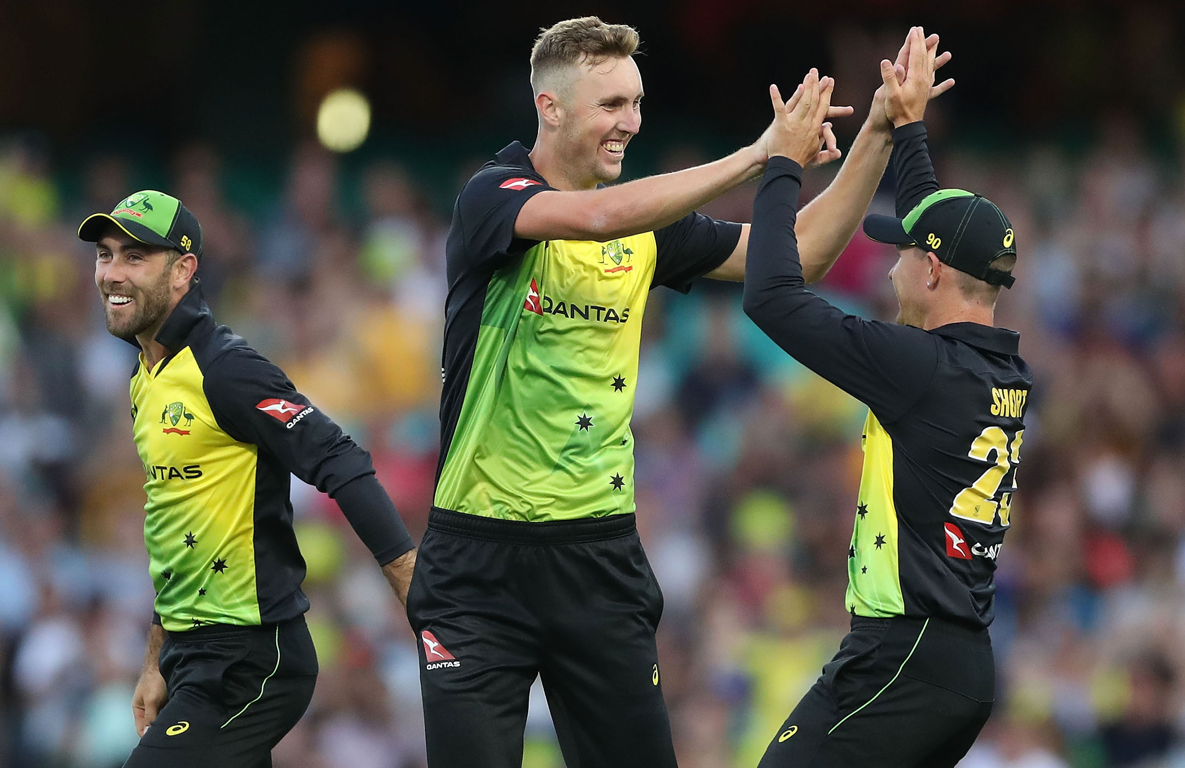 Ponting was all praise for Stanlake's promise. (Cricket Australia)
