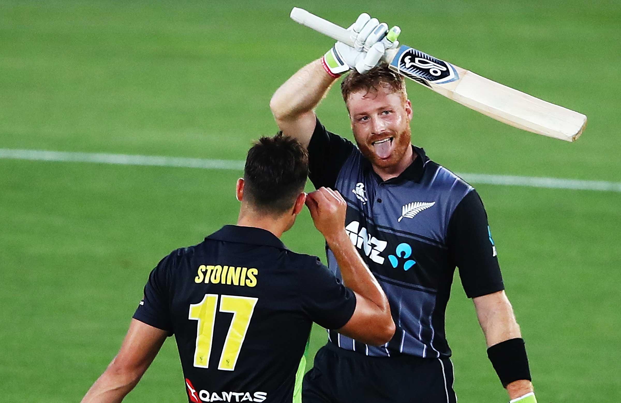 Guptill scored 105 off 49 deliveries. (Cricket Australia)