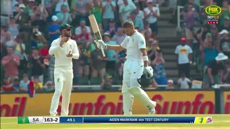 Markram posts another ton to put SA on top