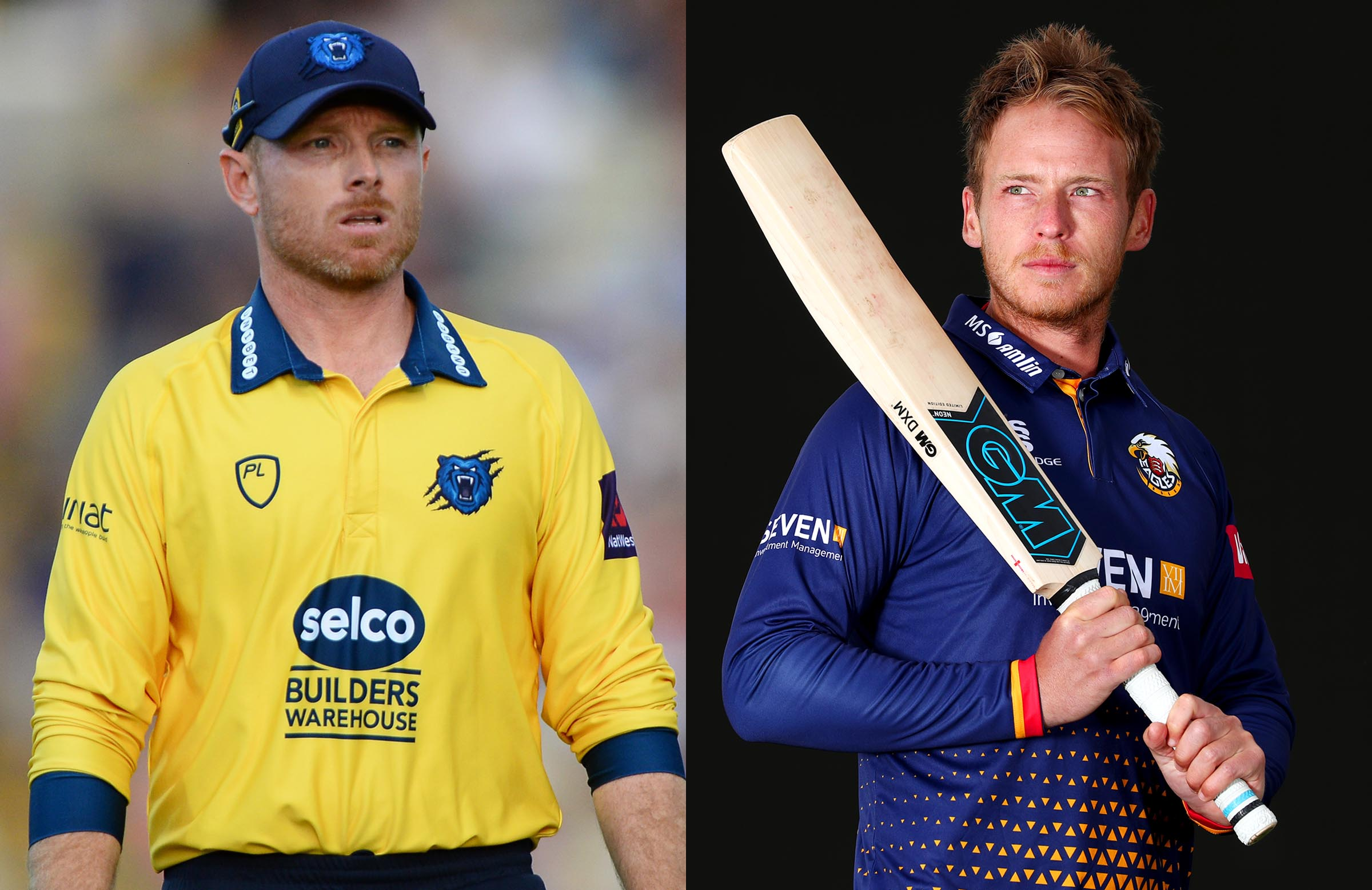 Ian Bell and Tom Westley. (Cricket Australia)