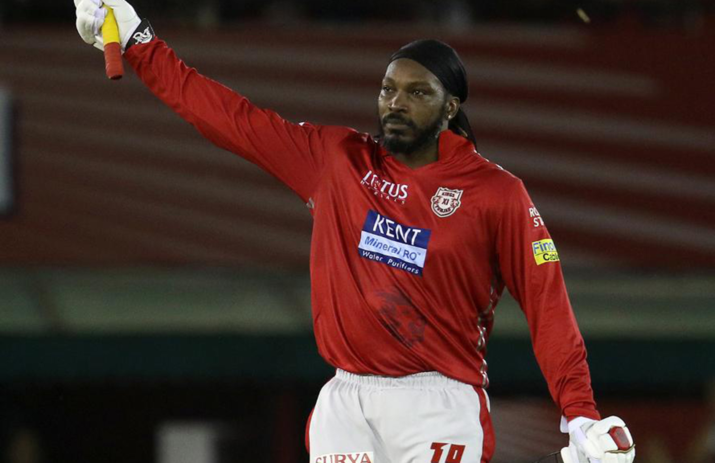 New highs and lows as strong Gayle hits