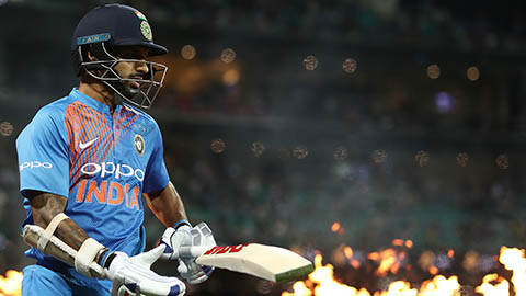 The best of Shikhar Dhawan in the T20s