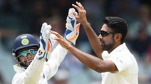 Ashwin enjoying bowling in Adelaide
