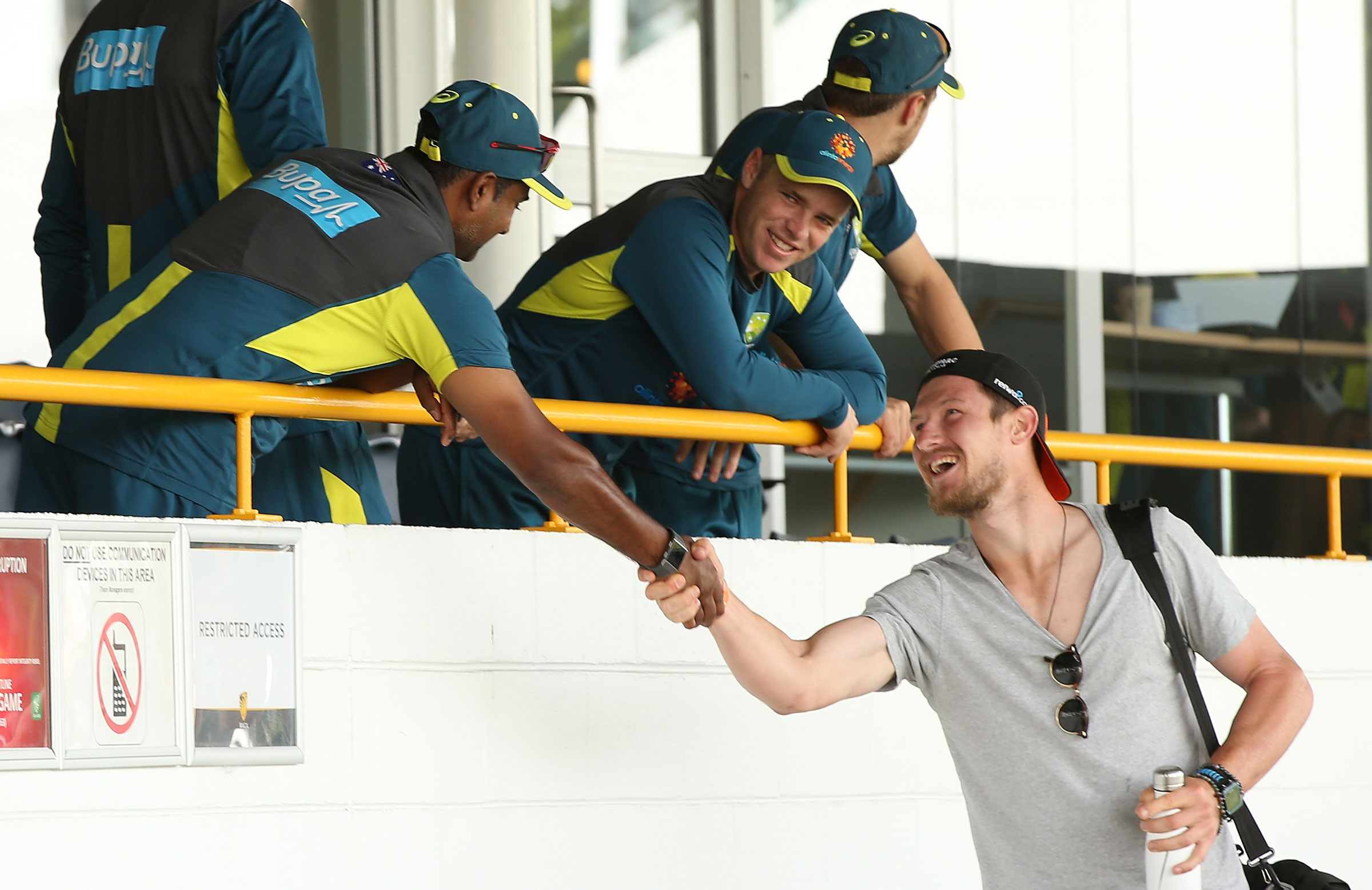 Bancroft in happier place as return nears - cricket.com.au image