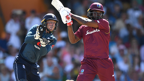 England win, WI blast record 23 sixes