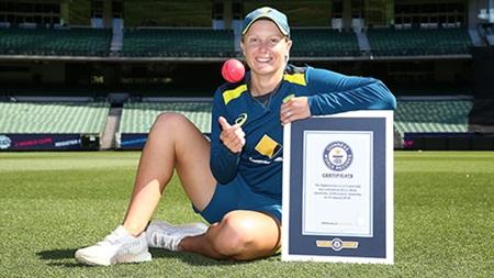 Healy breaks Guinness World Record