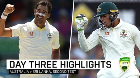 Starc, Khawaja put Australia in control