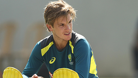 Zampa hitting top form ahead of WC