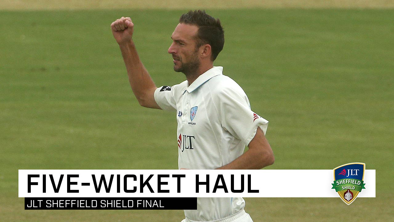 Copeland fires with five in Shield final